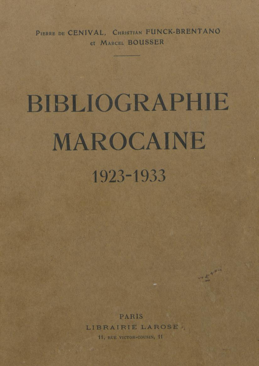 Bibliographie nationale : 1923-1933