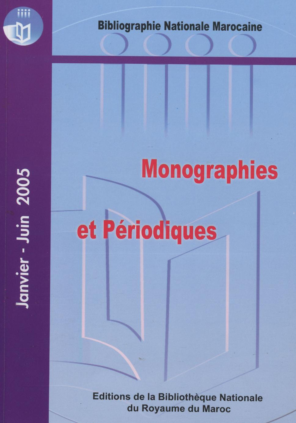 Bibliographie nationale : 2006